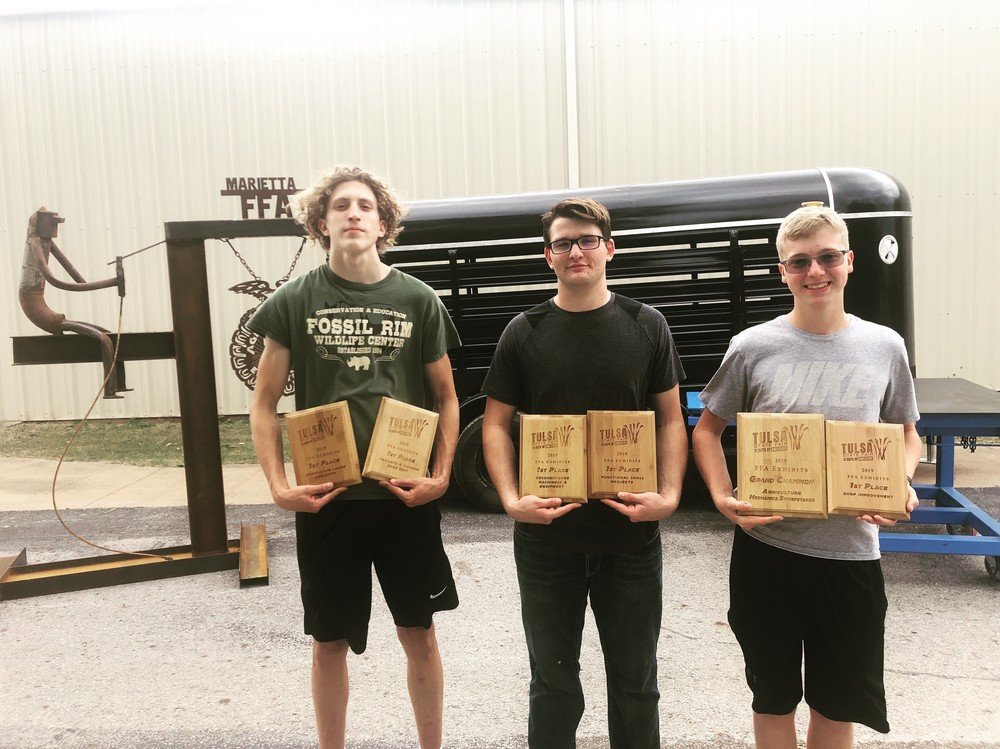Twice as nice at Tulsa: Ag Mechanics class wins second state championship in less than a month