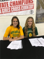 Dobbins and Sykora to run XC for Arkansas Tech University Golden Suns