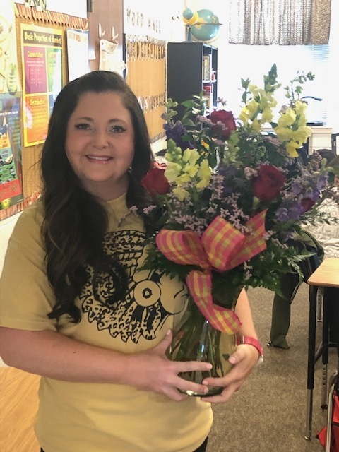 Mrs. Dobbins - Elementary Teacher of the Year