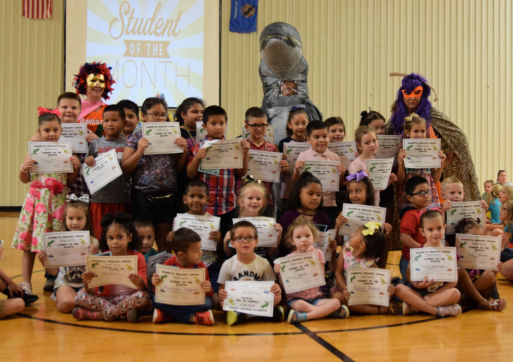 Primary Students of the Month