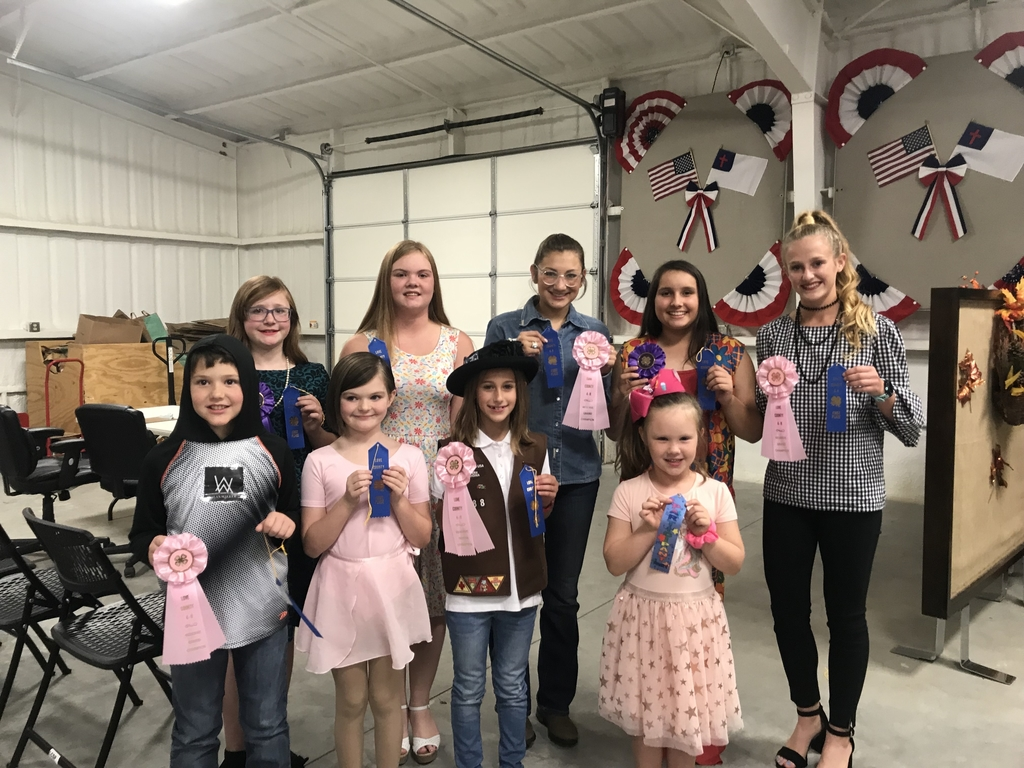 4-H members at the Love county character competition