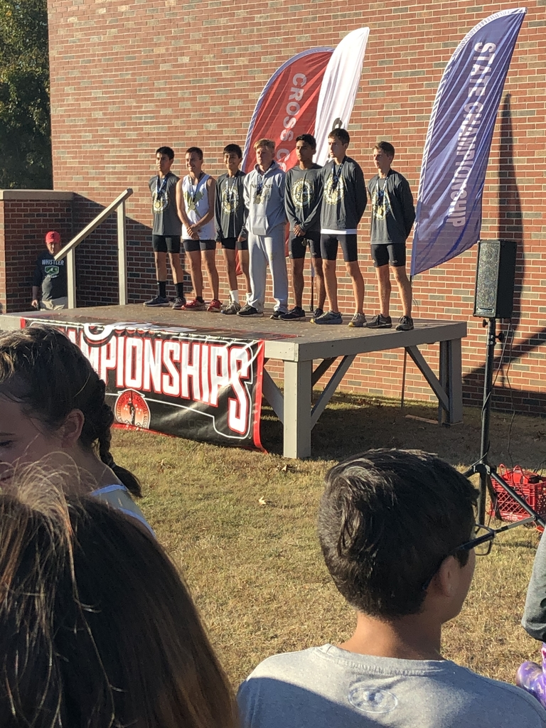 Marietta boys got third place at the state cross country meet in Shawnee