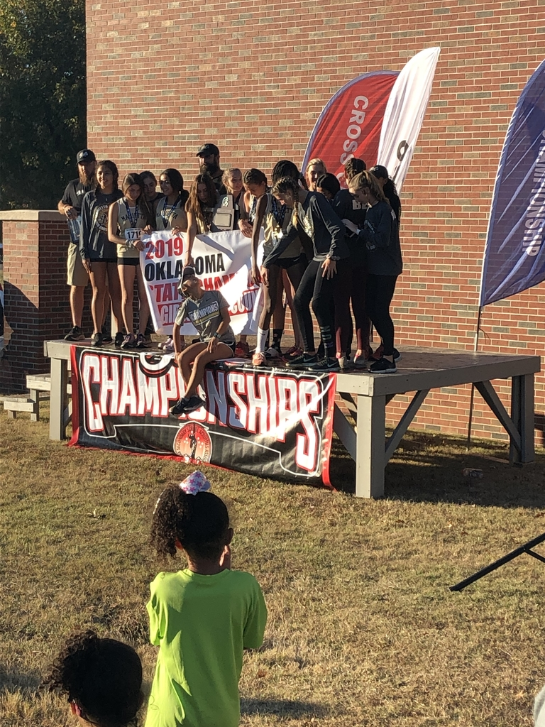 Marietta Girls taking state! Great Job!