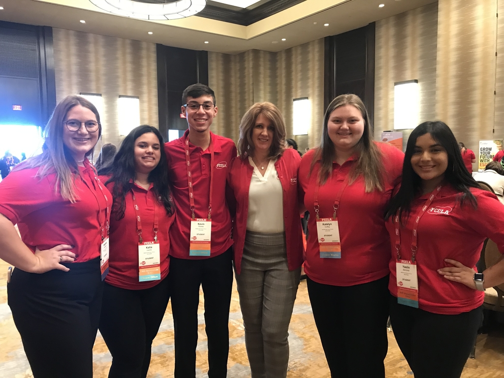 FCCLA students at the fall leadership conference in Dallas.