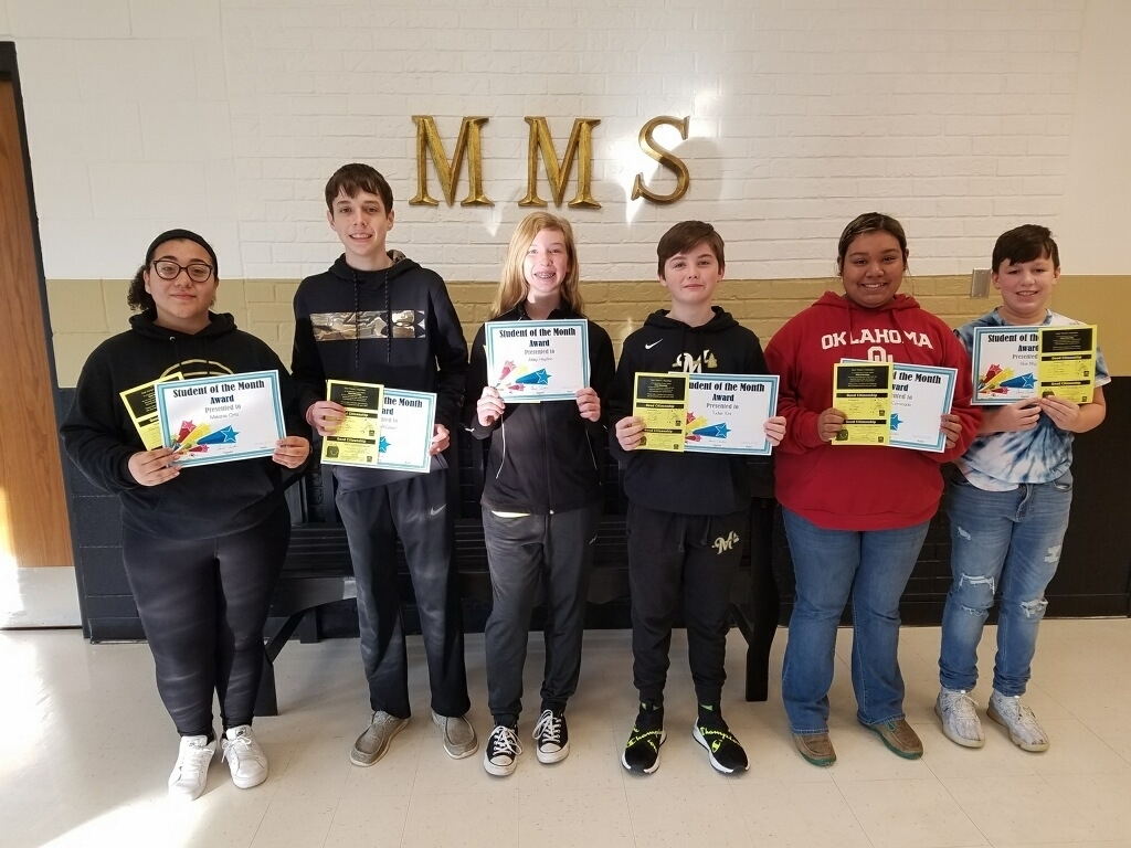 MS Students of the Month