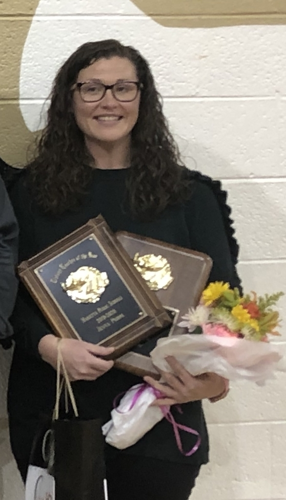 Jenna Phipps is District Teacher of the Year